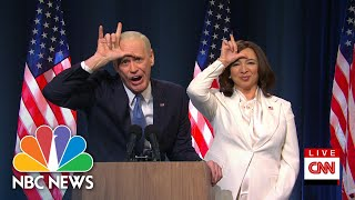 With Biden-Harris Victory, SNL Takes Parting Shots at Donald Trump | NBC News