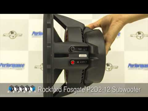 rockford fosgate p2d2 12 subwoofer review youtube. Black Bedroom Furniture Sets. Home Design Ideas
