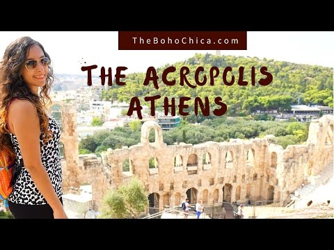 The Acropolis in Athens, Greece- The Boho Chica Travel Vlog