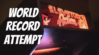 Elevator Action Arcade Game Record Attempt Level 4 Difficulty Very Hard 61,300 Taito 1983