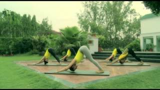 Surya Namaskar (Sun Salutation) & variations with music | Yoga With Sapna