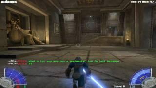 Star Wars Jedi Knight: Jedi Academy (PC) Team Deathmatch Gameplay (HD)