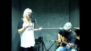 Lorraine Hall & Andy Clarke - My Love Live Cover (Katy B Version)