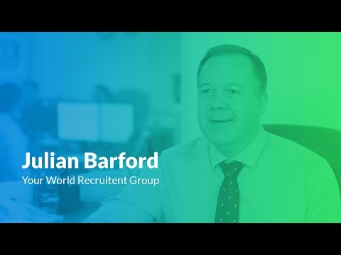 Julian Barford - Finance Manager, Your World Recruitment Group