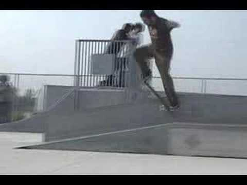 Eden Nc Creation Skateboards Demo @ freedom skate park