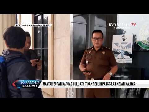 Mantan Bupati Kapuas Hulu ATH Tidak Penuhi Panggilan Kejati Kalbar