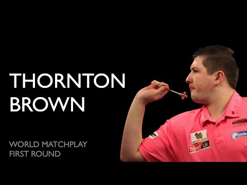 World Matchplay '15: Thornton vs Brown | 1st round [1080p][5.1]