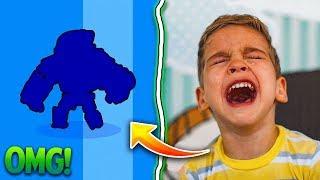 8 Jähriger fängt fast an zu weinen nach legendären Brawler.. 😂😈 ★ Brawl Stars deutsch