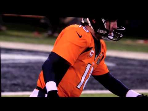 2014 superbowl Opening Safety followed by dustin colquitt PUNT (broncos) punter