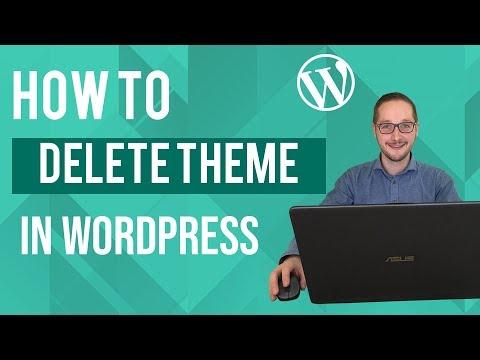 How to delete theme in Wordpress Tutorial thumbnail