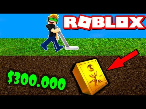 I AM A MILLIONAIRE in ROBLOX METAL DETECTING SIMULATOR