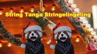 String-Tanga, stringelingeling Kling Glöckchen Lustig Weihnachten Advent FaceRig deutsch german