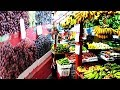 Biggest Fruit and Vegetables Market at Malaysia