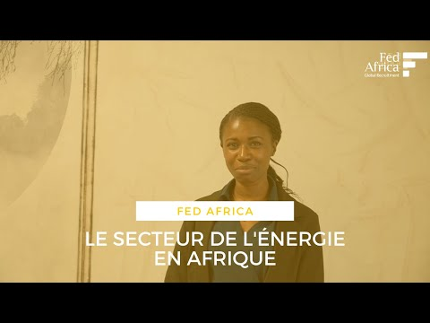 Le secteur de l'énergie en Afrique | Maguette BA, Consultante chez Fed Africa