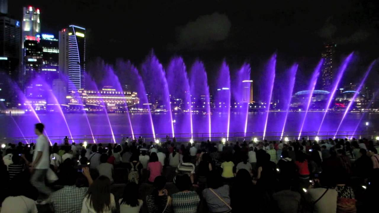 Travel Singapore Wonder Full The Light And Water Show