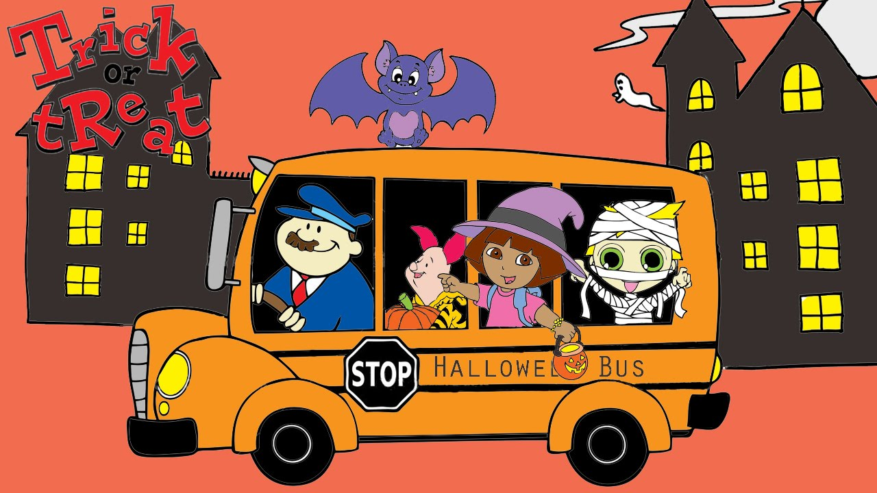 Halloween Coloring Pages For Kids ♥ Halloween Coloring Book ...