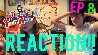 FIREFLY FUNHOUSE EPISODE 8 REACTION!! (WITH ZAC!)