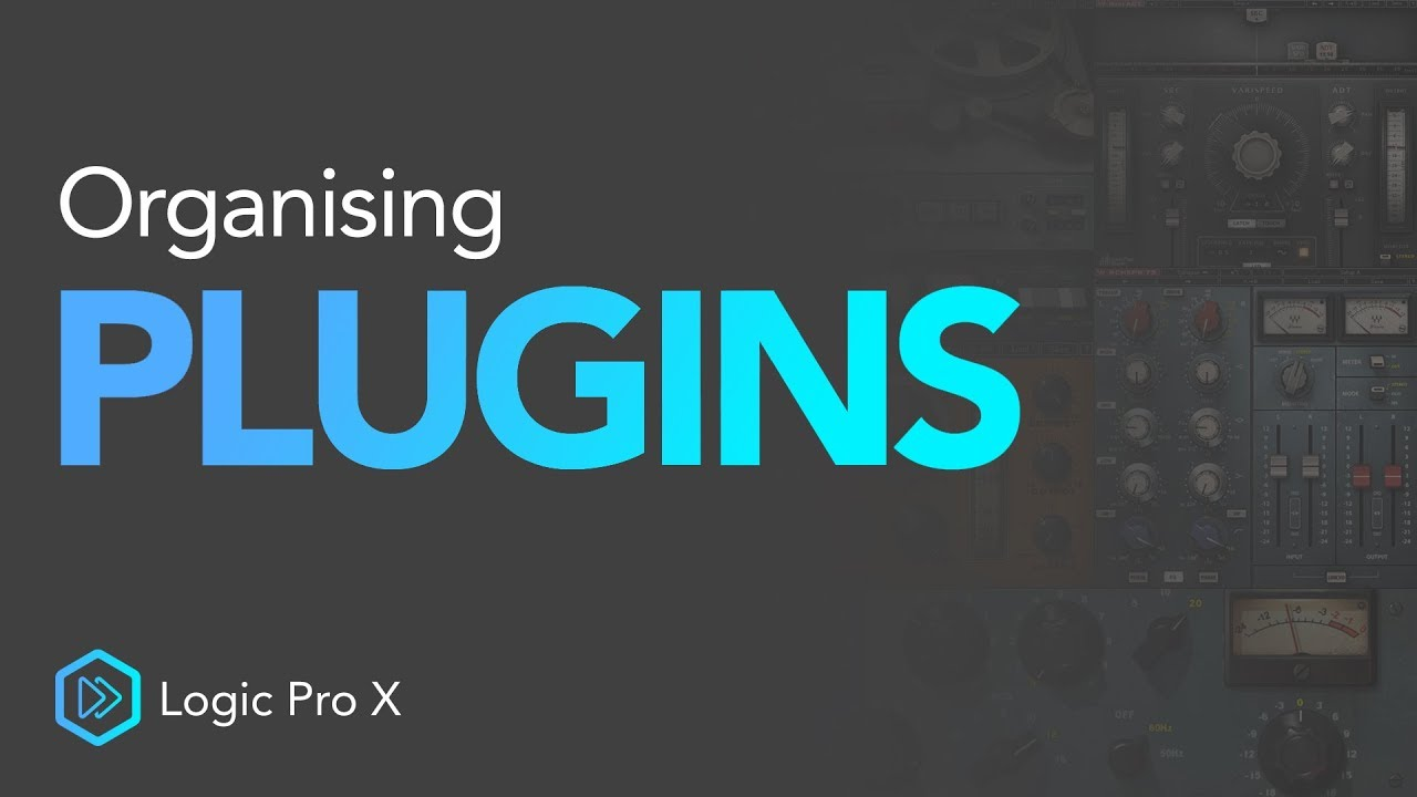How To Organise Your Plugins   Logic Pro X