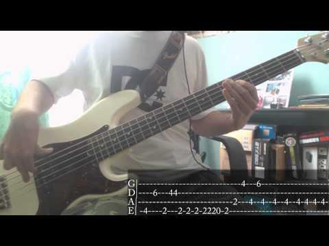 Jamiroquai - Cosmic Girl [Bass Cover + Tab]