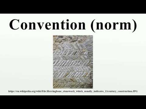 Convention (norm)