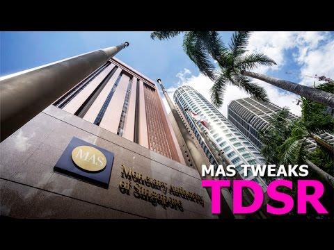 MAS tweaks TDSR - 01 Sep 2016