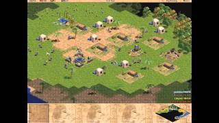 Age of Empires 1 Egyptians level 7 Trade HD