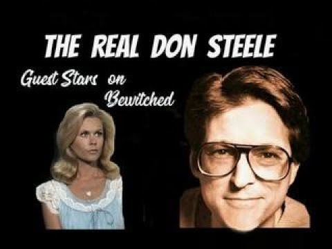 The Real Don Steele on Bewitched with Elizabeth Montgomery