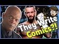 7 Celebrities Who Wrote Comics