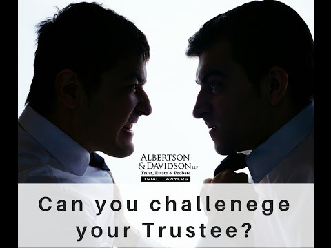 Top 10 Trust and Will Myths: Episode 10 Will you be disinherited for challenging your Trustee?