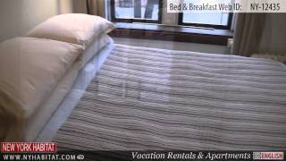 Manhattan, New York City - Video tour of a Bed & Breakfast in the East Village (East 7th Street)