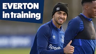 BLUES PREPARE FOR MERSEYSIDE DERBY CUP CLASH! | EVERTON IN TRAINING