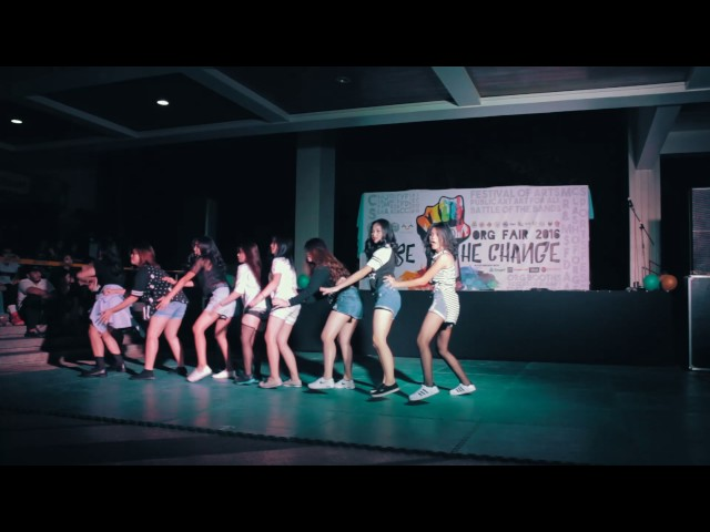 FEU Diliman JFINEX DANCE CREW   Clash of the Orgs 2016