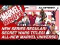 New Series Regular! Secret Wars Titles! All-New Marvel Universe! - Marvel Minute 2015