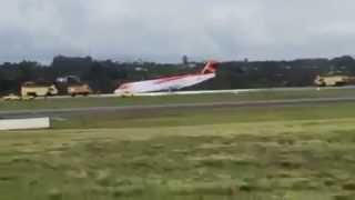 Fokker 100 da Avianca Pouso Forçado Brasília