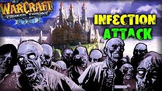 Warcraft 3 Frozen Throne - Карта Infection Attack v1.8! [Сложно? Нет, ХАРДОВО!]