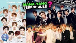 10 Boy Group K-pop Terpopuler Saat ini