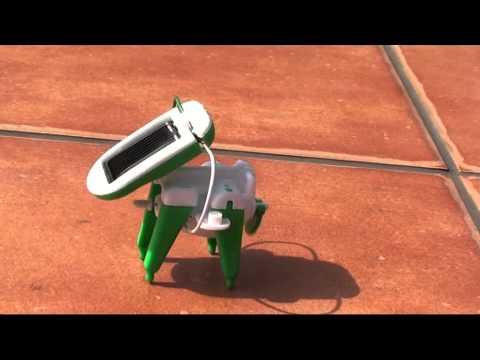 SOLAR PUPPY Szczeniak solarny ROBOT KITS 6in1