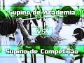 Supino de ACADEMIA vs Supino de COMPETIÇÃO - Entenda as diferenças