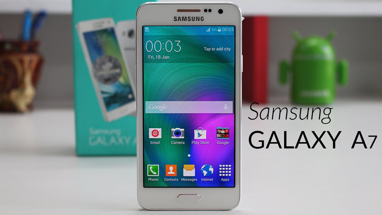 Image result for galaxy a7 unboxing