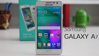 Samsung Galaxy A7 Unboxing & Quick Review