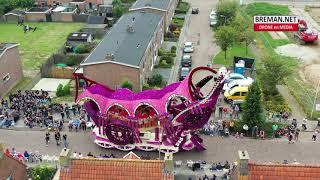 16-08-2019 Drone beelden van Bloemen corso Sint Jansklooster