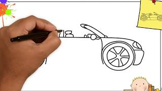 Adım adım araba çizimi