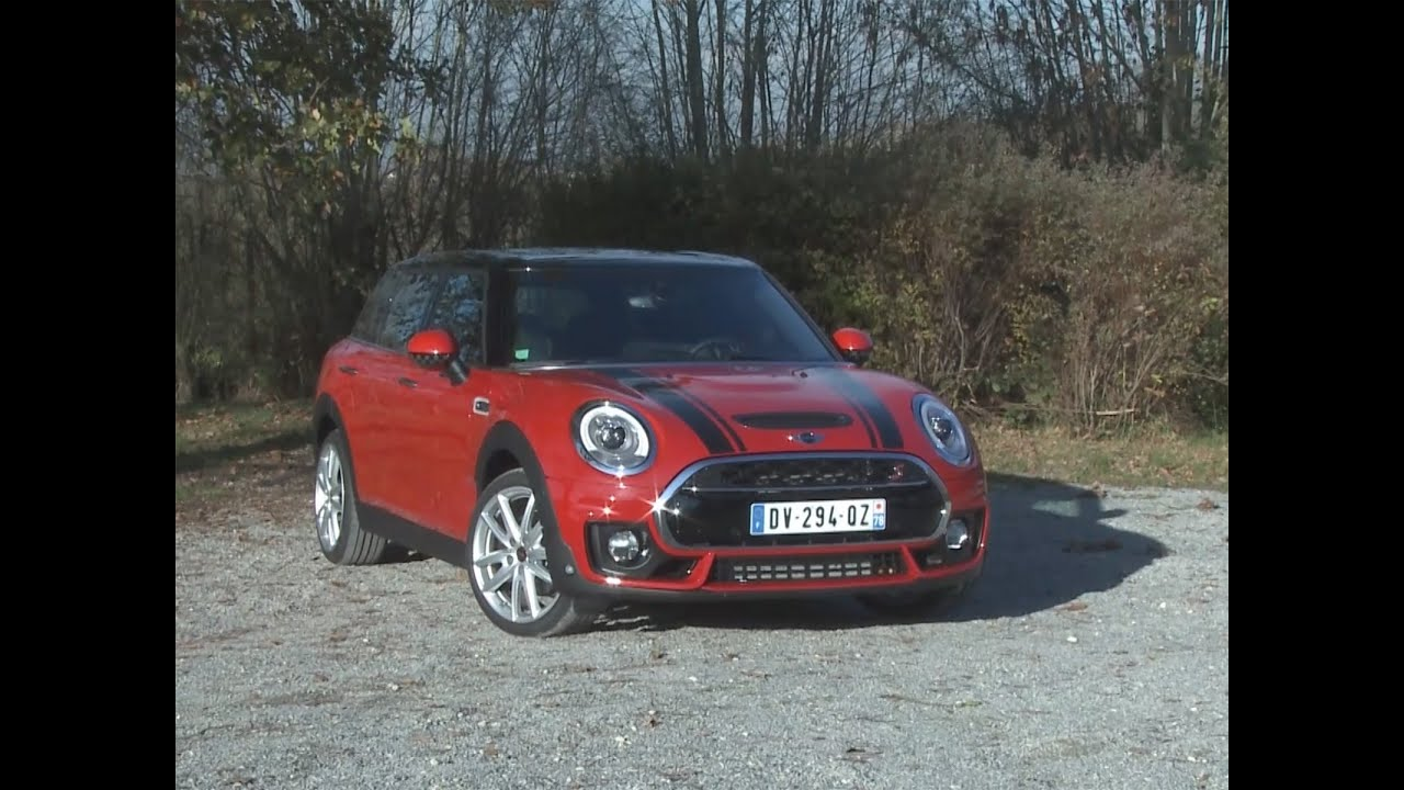 Essai Mini Clubman Cooper S Red Hot Chili 2015 Youtube