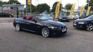 Video BMW 3 Series 2.0 320i M Sport 2dr FULL RED LEATHER convertible black download MP3, 3GP, MP4, WEBM, AVI, FLV Juli 2018