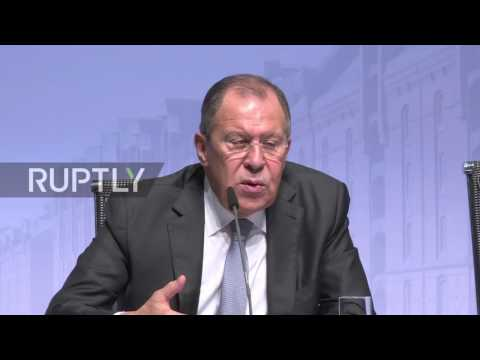 Germany: Lavrov points to difficulties in reaching settlement to Ukraine crisis