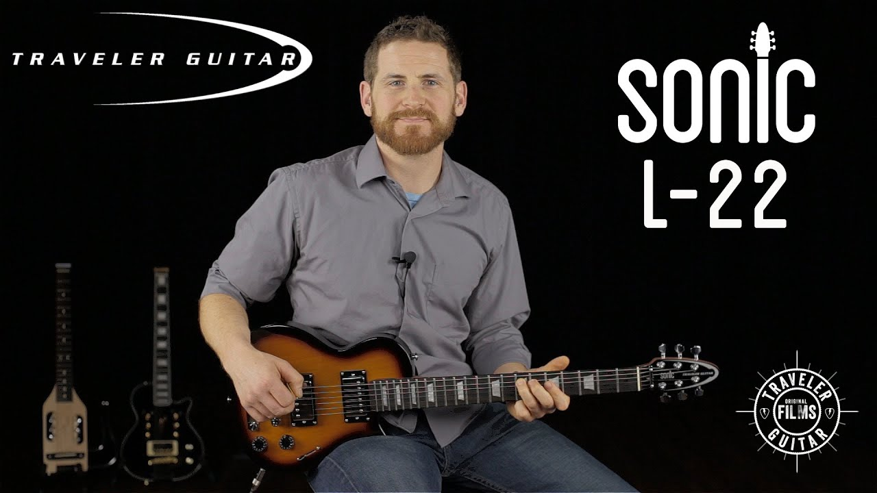 Traveler Guitar Sonic L-22 Product Overview - YouTube