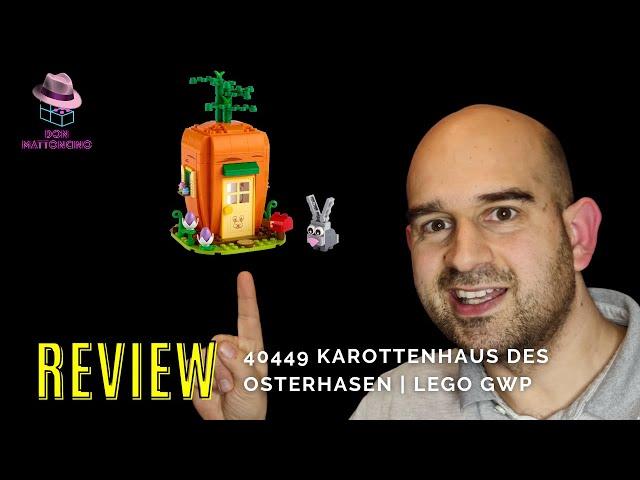 Das Karottenhaus des Osterhasen im Review   Lego Set 40449