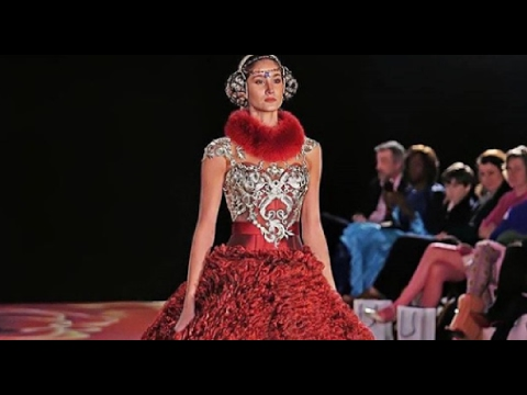 Mariam Habach In The UPTOWN Fashion Week In New York