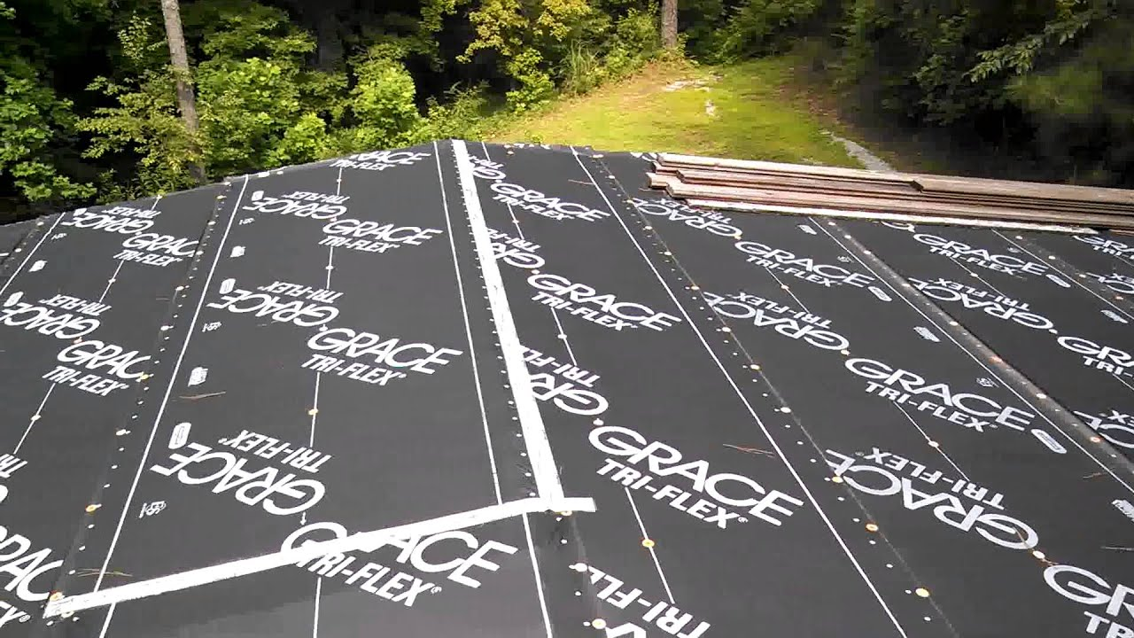 Grace Tri Flex Roof Membrane Youtube