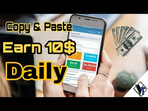 Earn $10 and more Daily Copy Paste Work Guaranteed Income|proof|vrrun tech